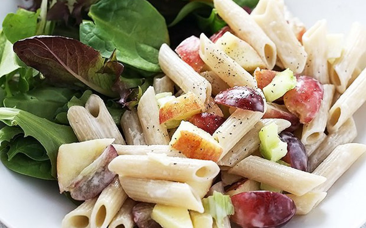 Apple and Grape Pasta 1