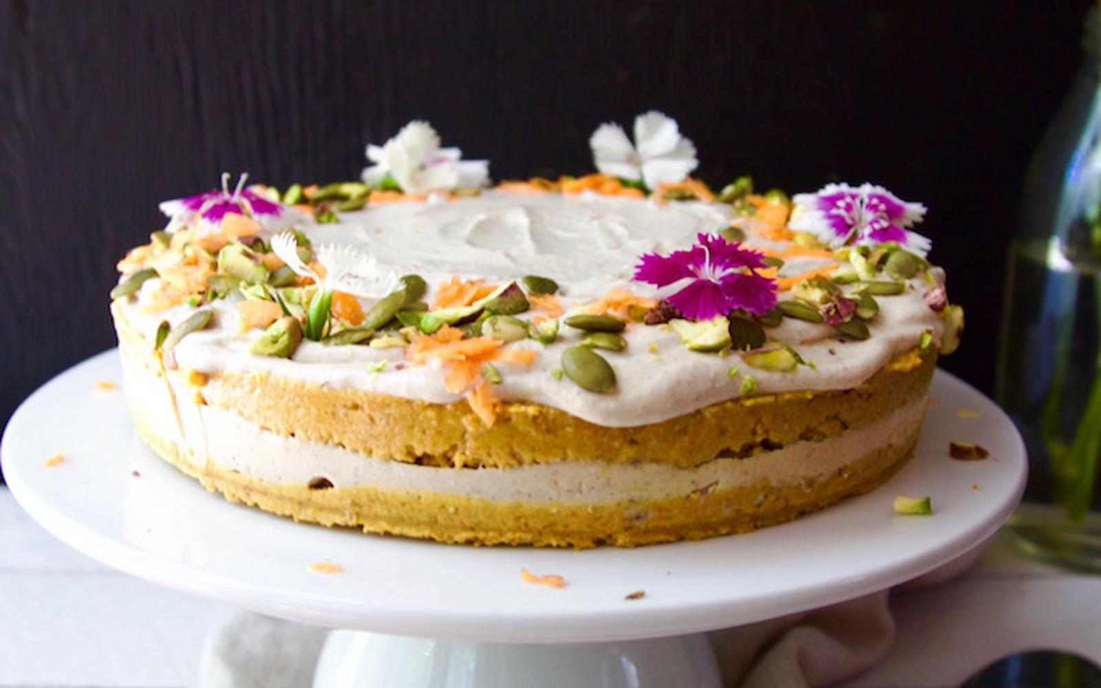 Carrot Cake With Orange Lemon Frosting 1