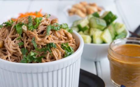 Cashew Cream Noodle Salad 4