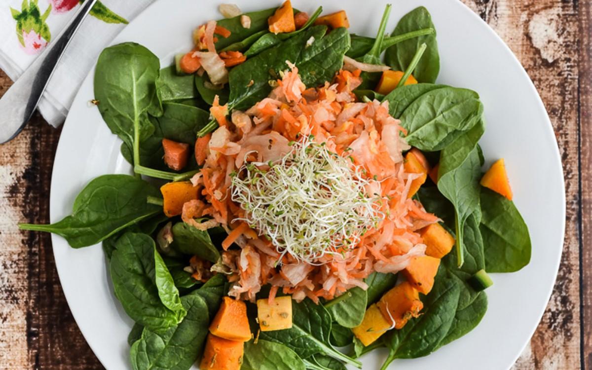 Ginger Carrot Daikon Kimchi