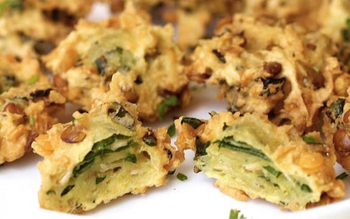 Lentil Kale Fritters