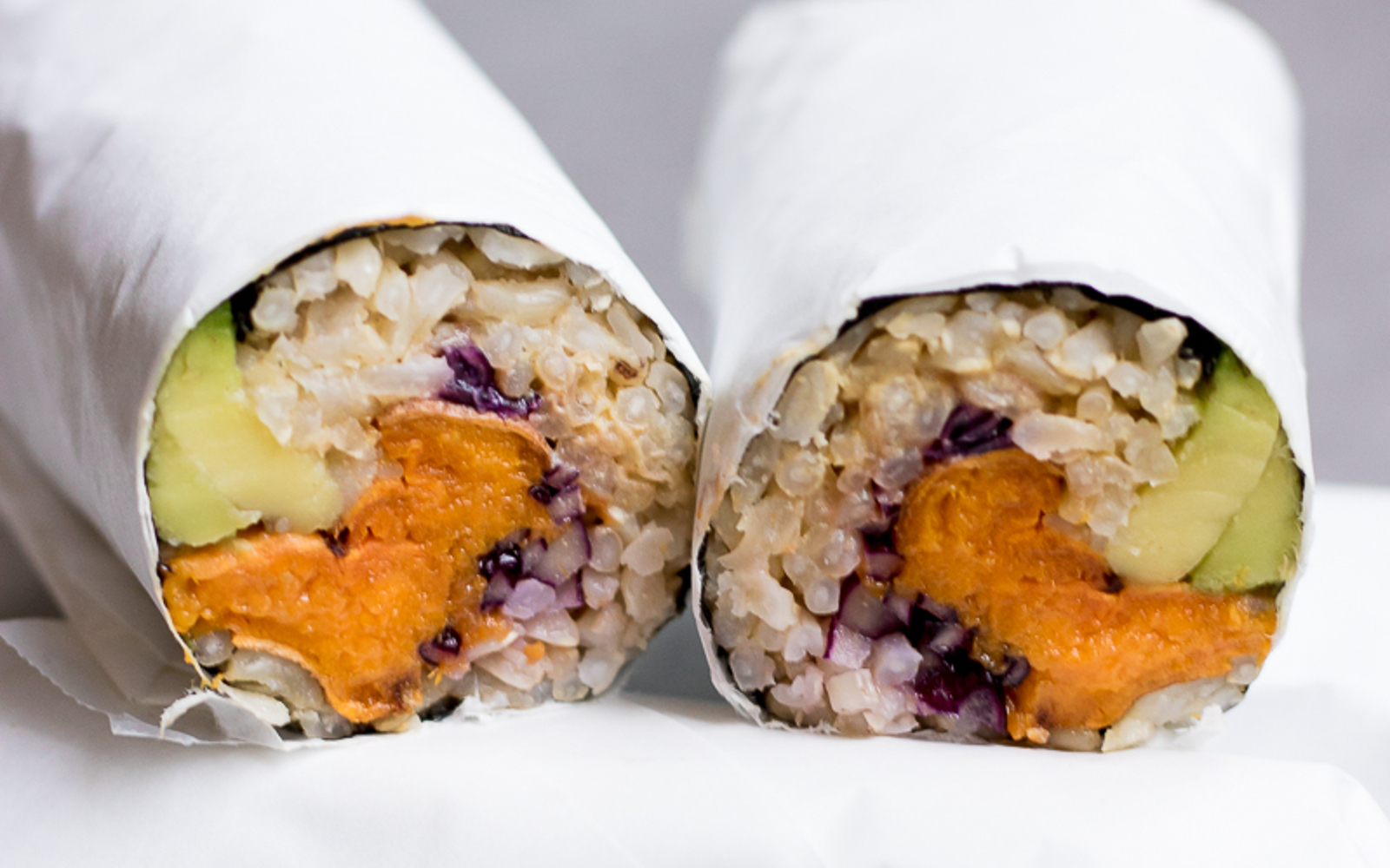 Sweet Potato Sushi Burrito