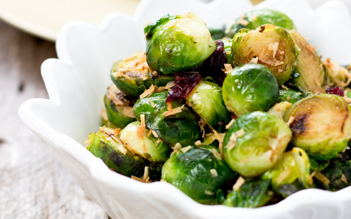 Brussels Sprouts Stir Fry 1
