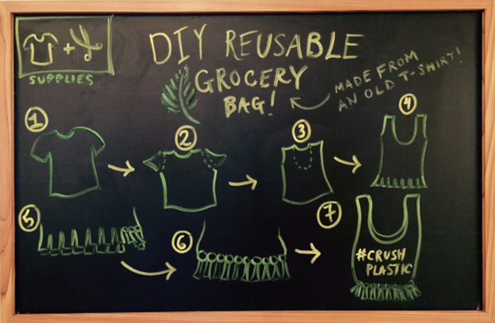 Fight Plastic and Textile Waste All At Once With This Easy DIY Project!