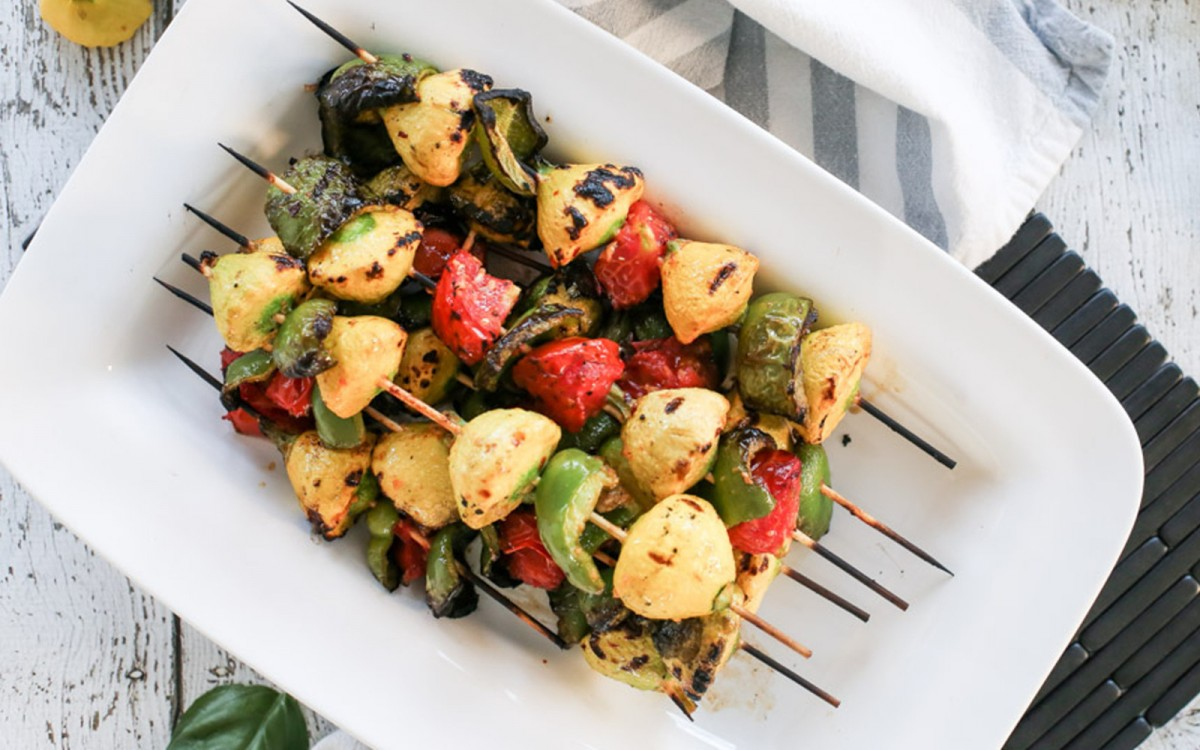 Grilled Baby Summer Squash Two Ways Vegan One Green Planet