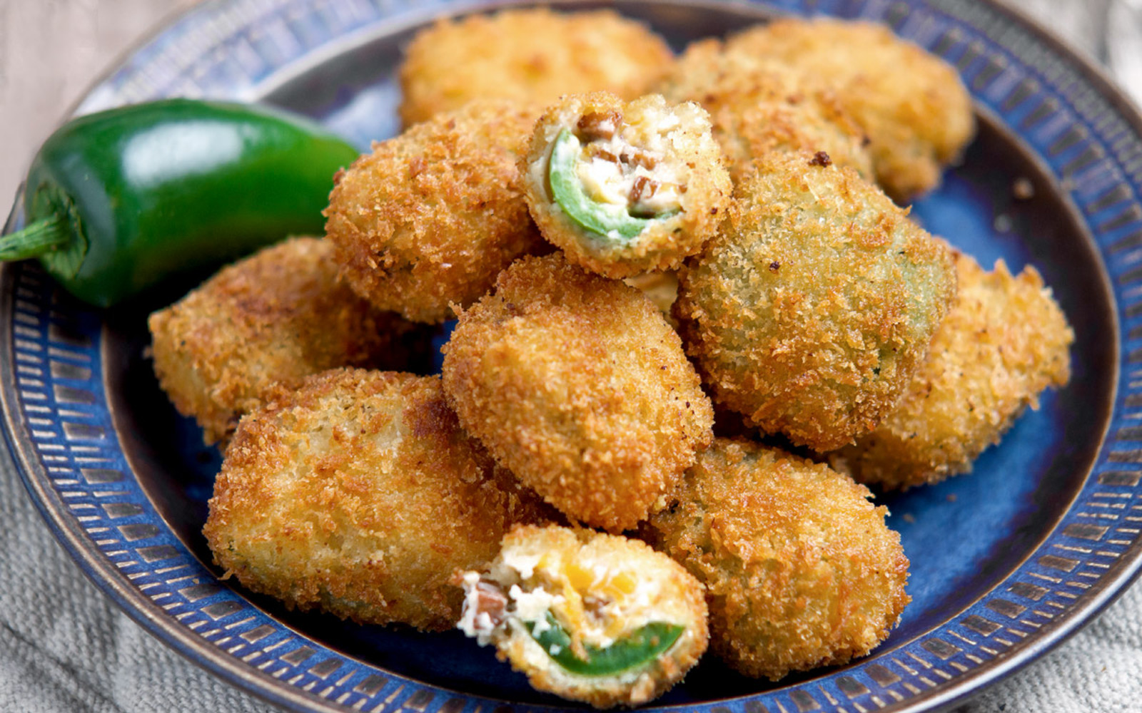 Jalapeno Poppers with Smoked Tofu b
