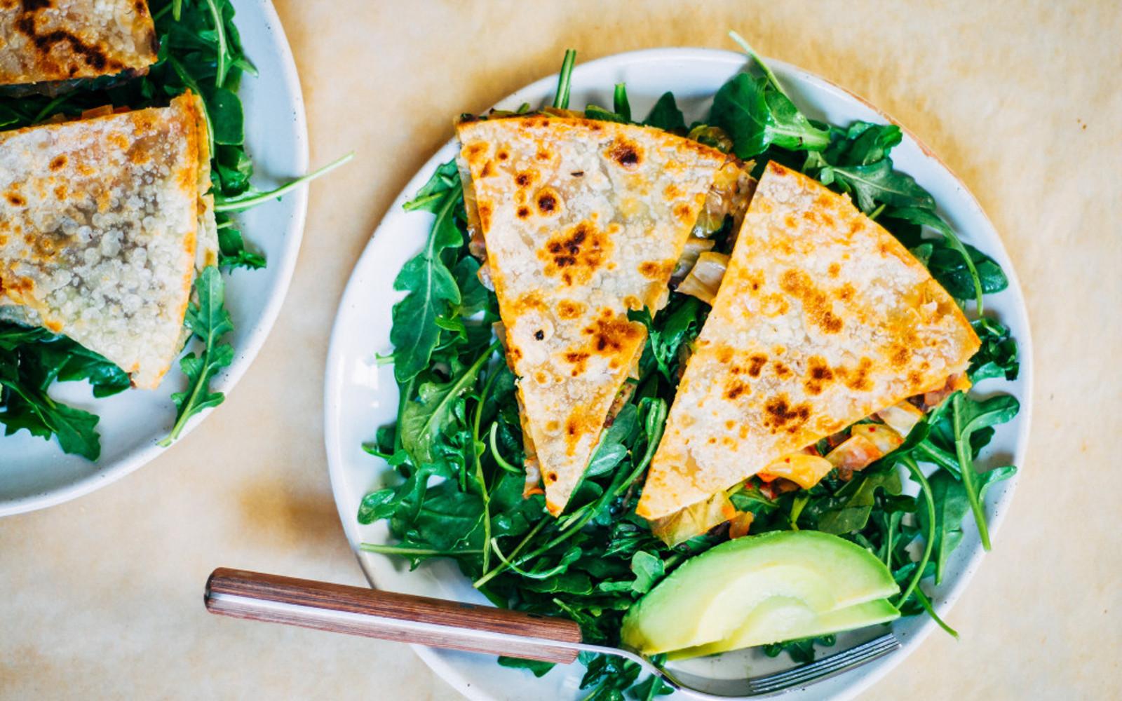 Kimchi Quesadillas 1
