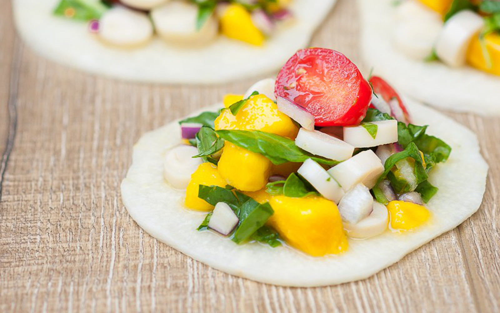 Raw Mango and Hearts of Palm Ceviche