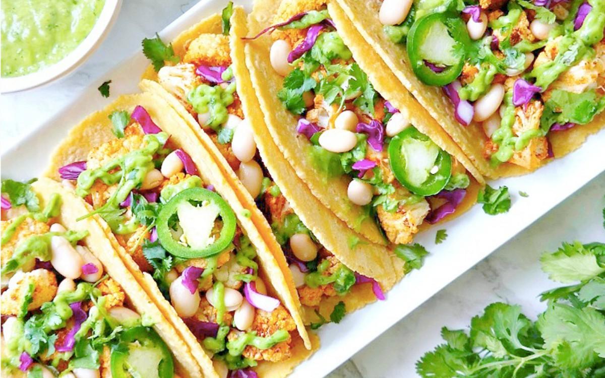 Roasted Cauliflower Tacos 1