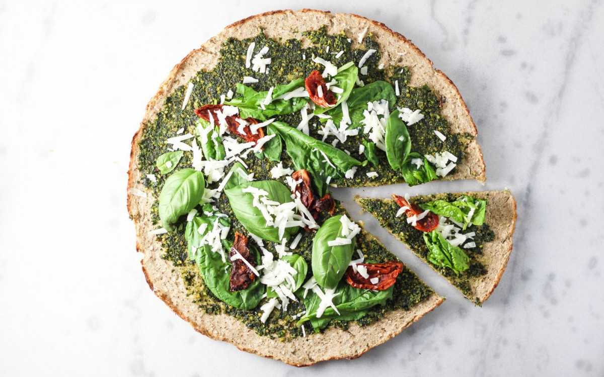 Cauliflower Buckwheat Pizza