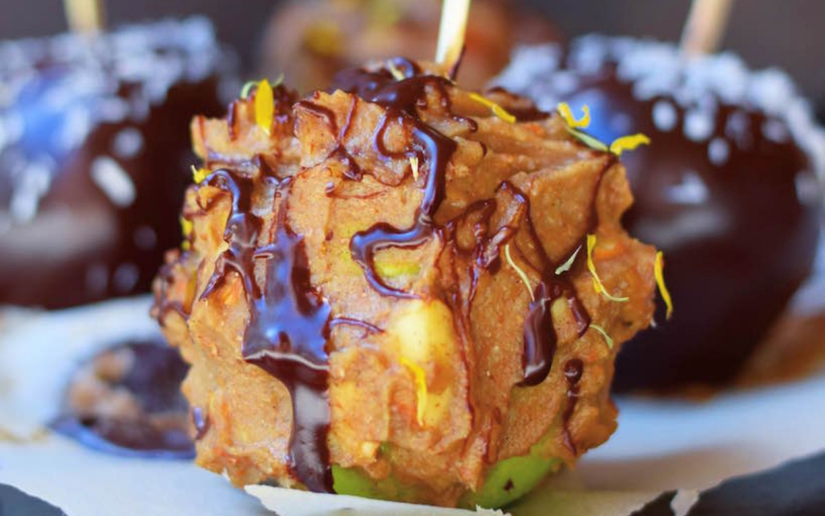 Healthy Caramel Candy Apples 1