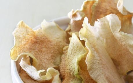 Kohlrabi Chips 1