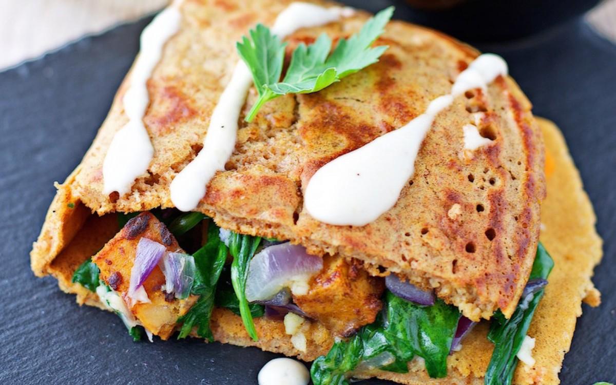 Pancake Calzone 3
