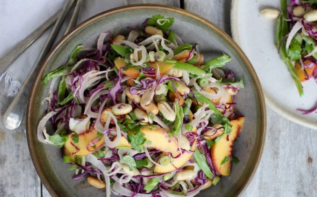 Peach and Fennel Salad 1