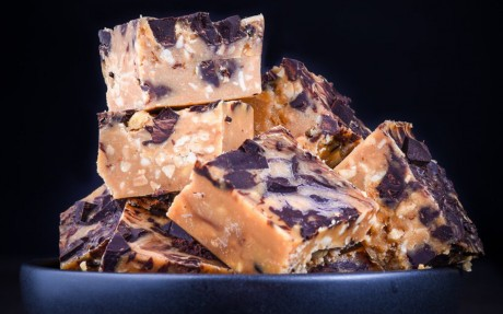 Peanut Butter Chocolate Chip Fudge