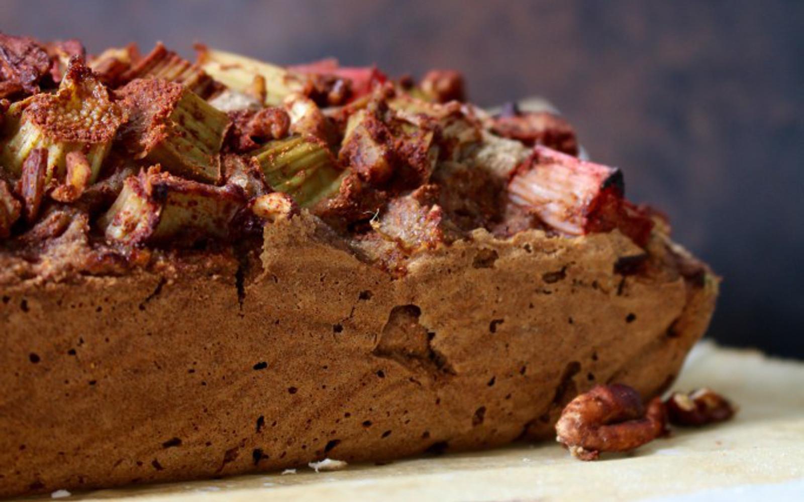 Rhubarb Fennel Bread 4