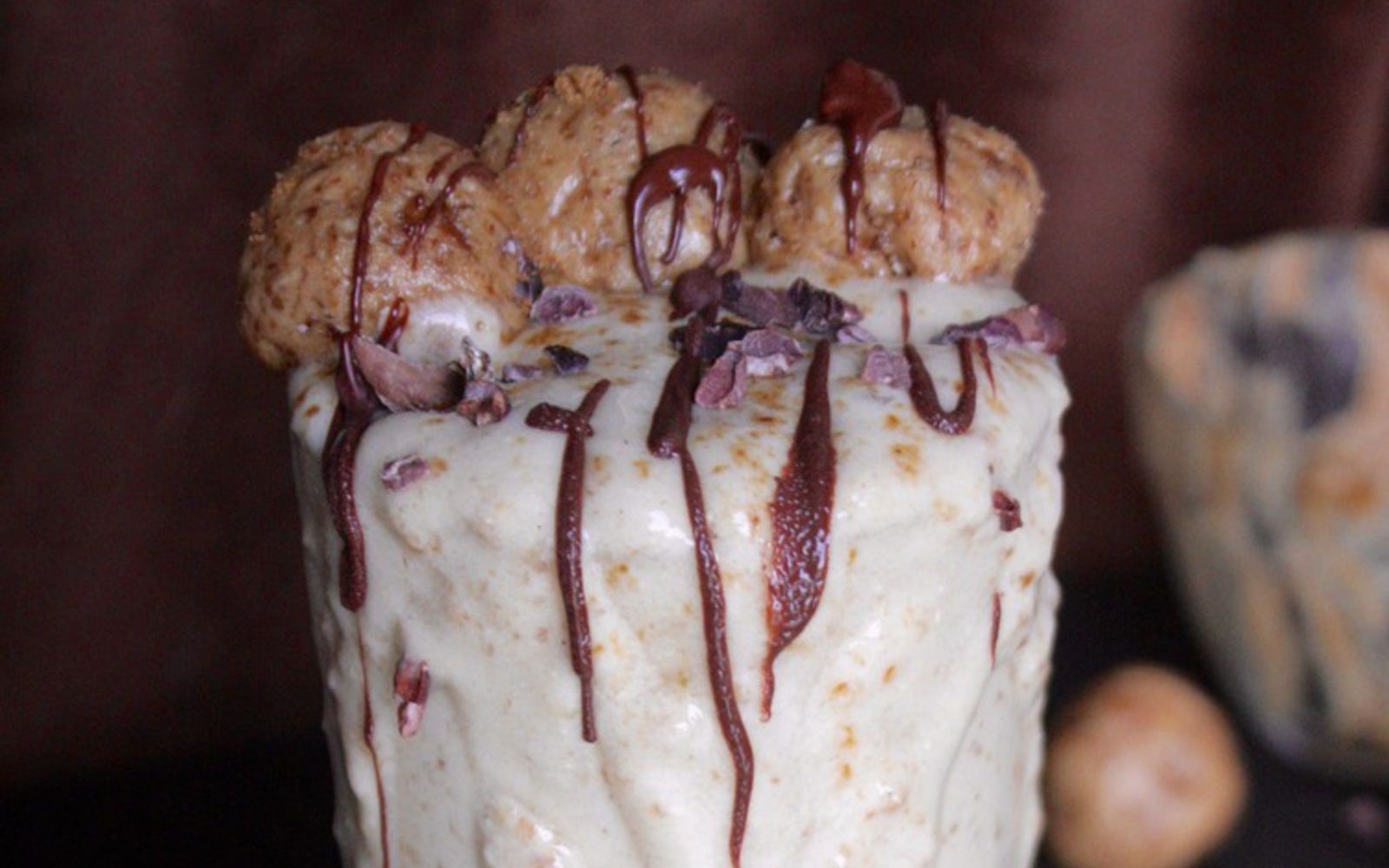 Raw Salted Caramel Truffle Blizzard