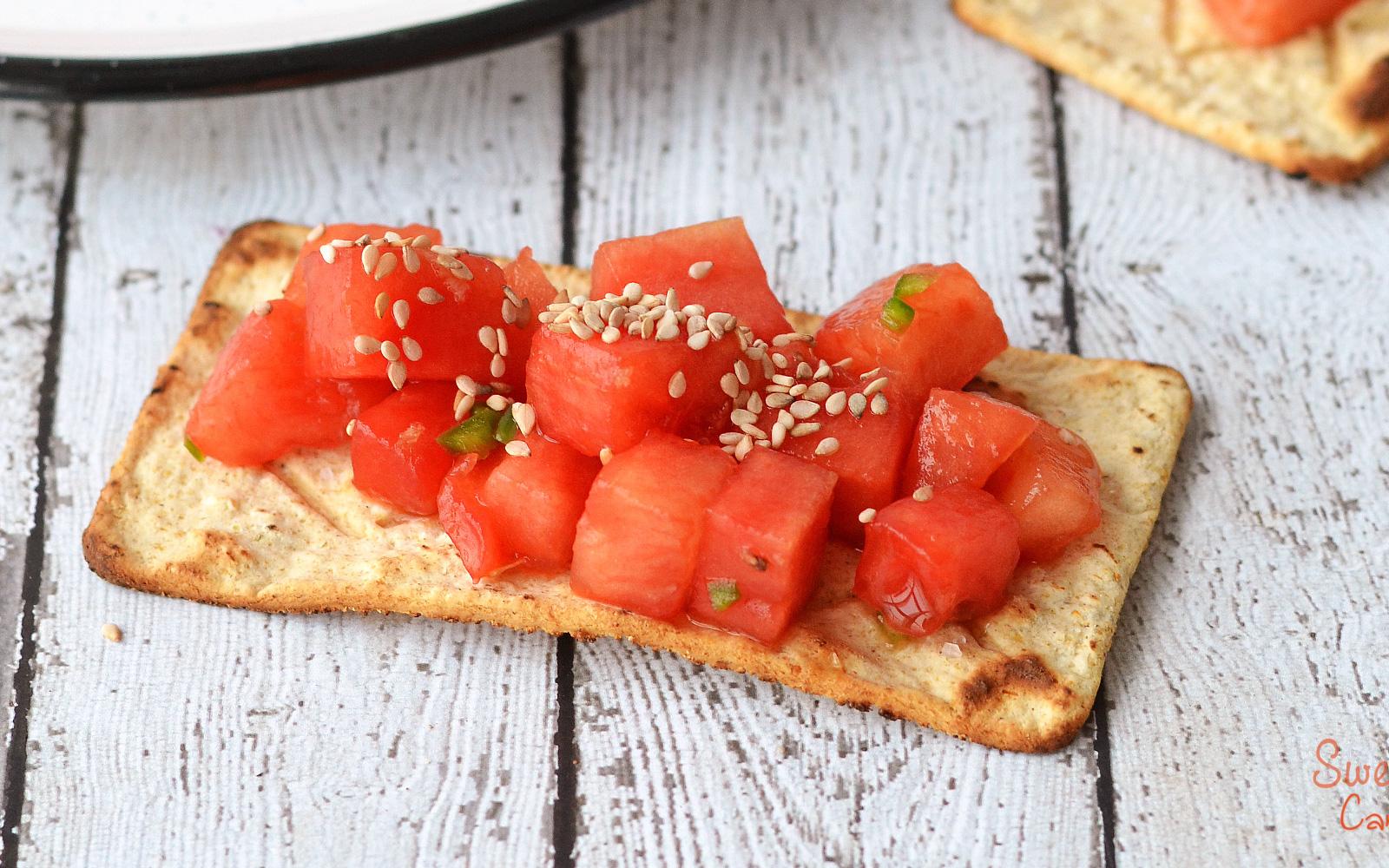 Watermelon Tartare