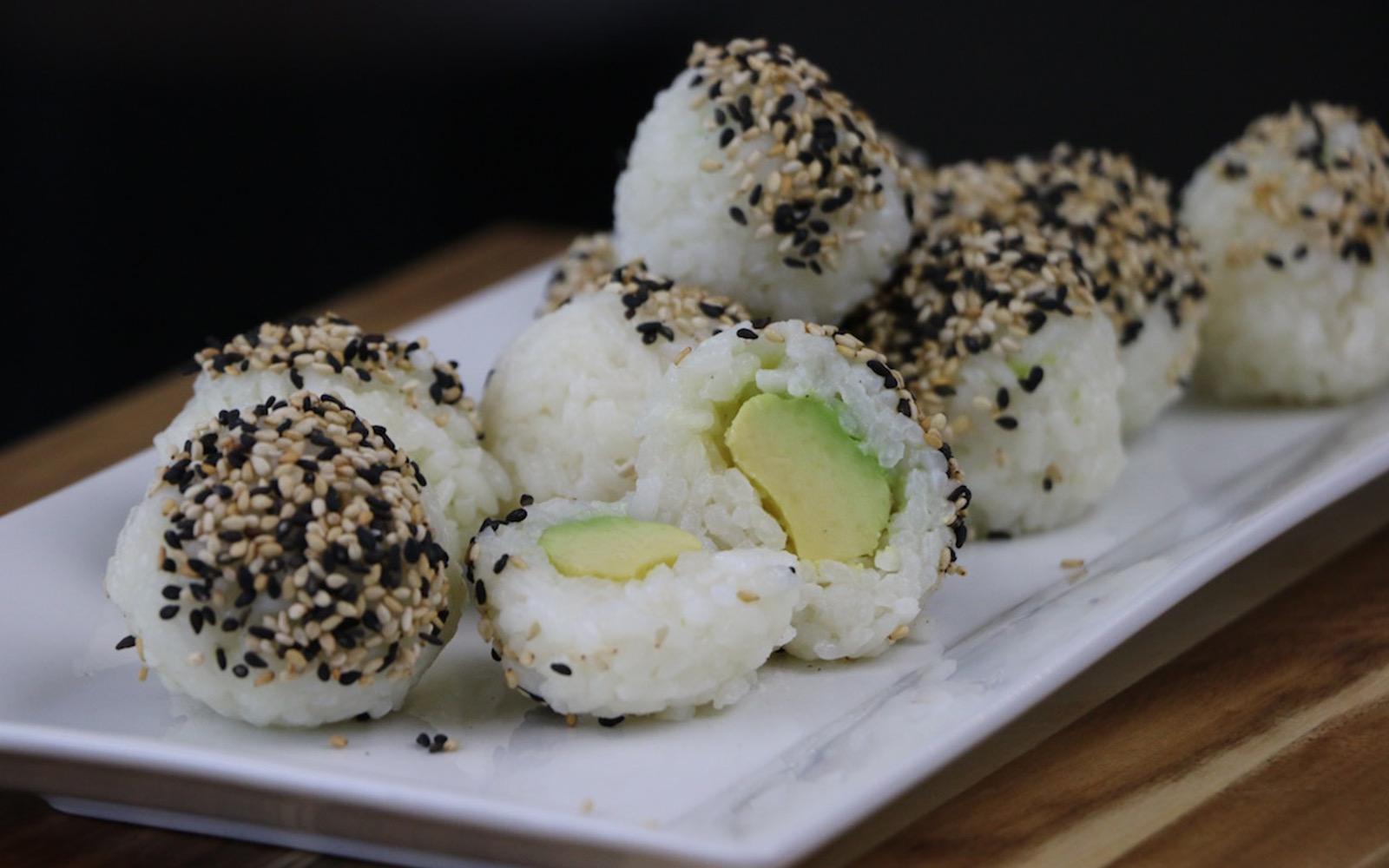 Avocado Sushi Balls