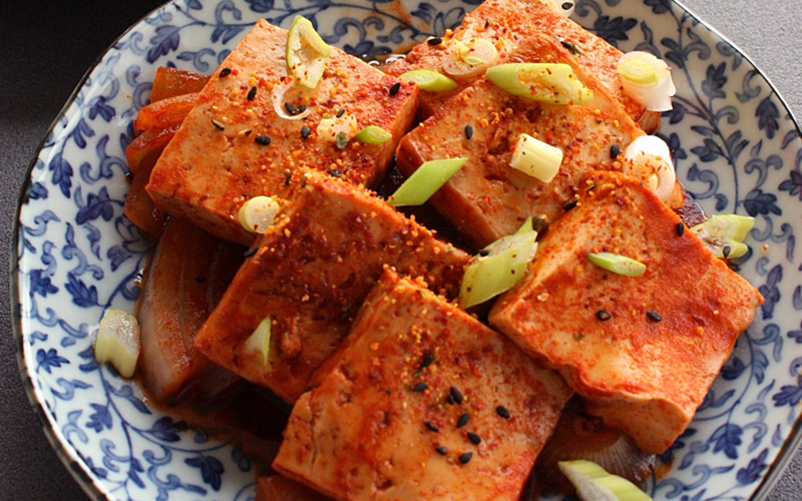 Korean Braised Tofu 2