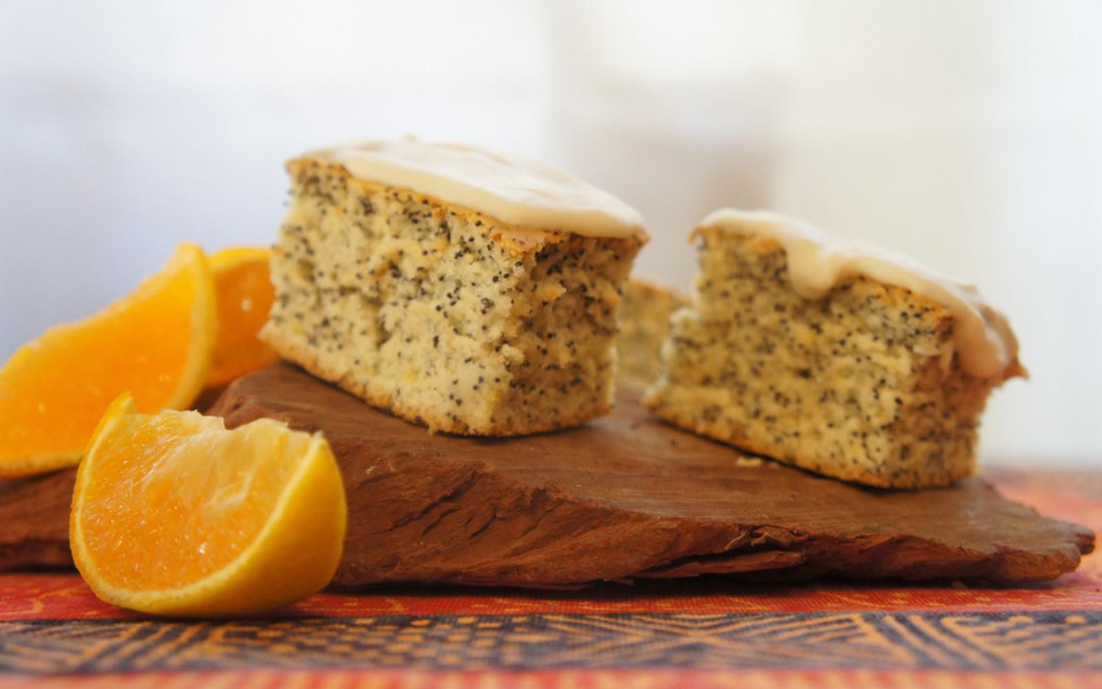 Orange Poppyseed Cake 1
