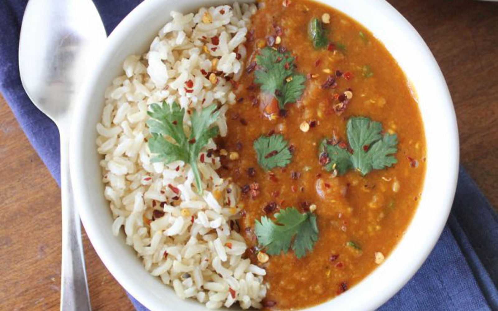 Pressure Cooker Red Lentil Curry Vegan One Green Planet