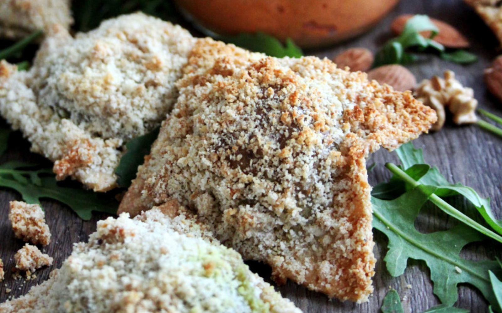 Crispy Pesto-Stuffed Ravioli