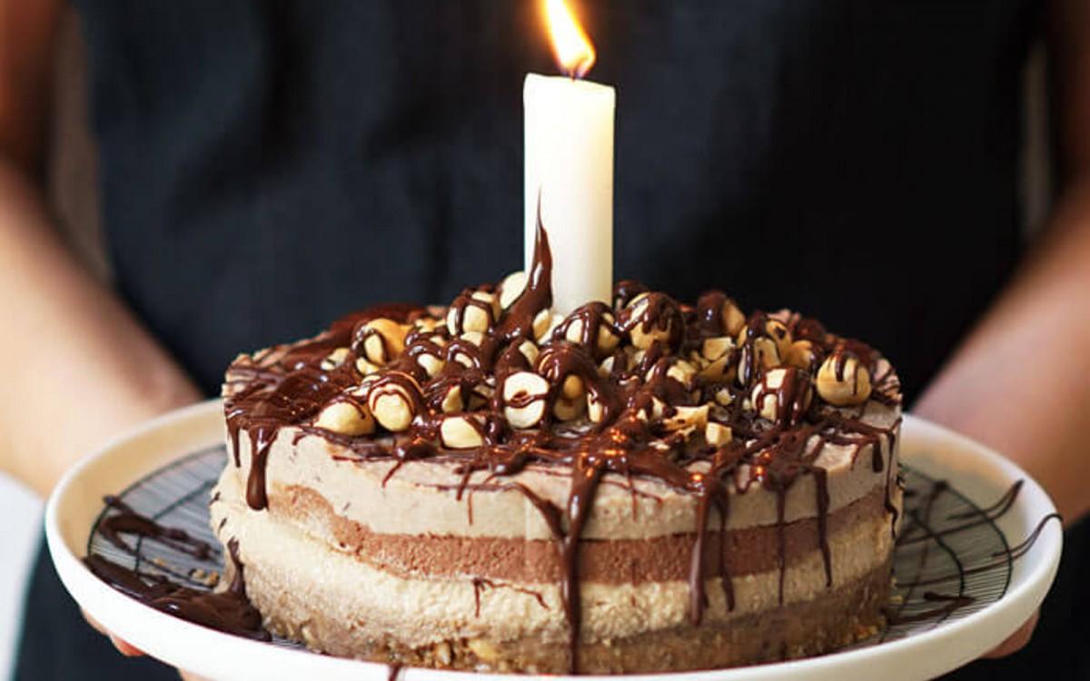 Vegan Salted Caramel Espresso Cake