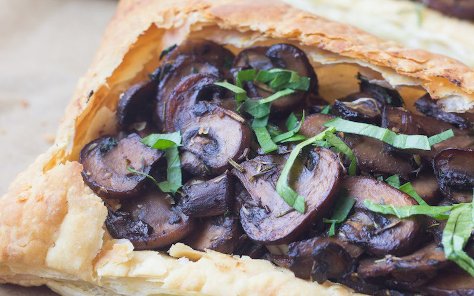 Savory Mushroom Tart 1
