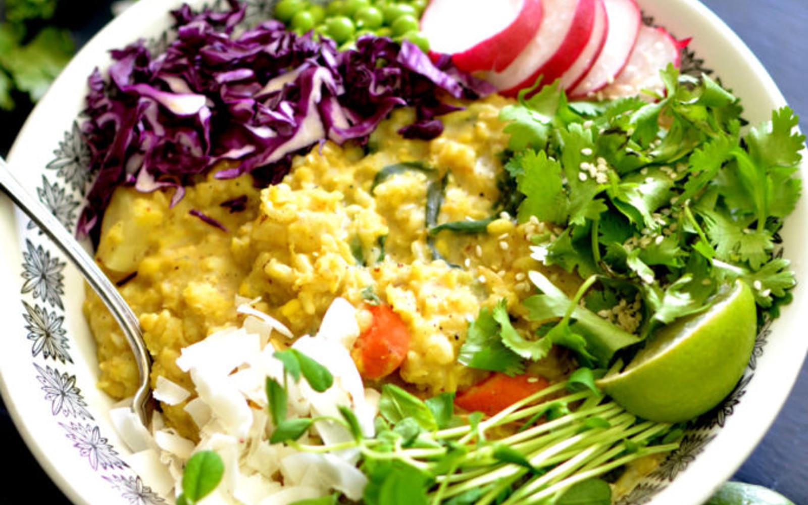 Vegan Summer Kitchari Bowl