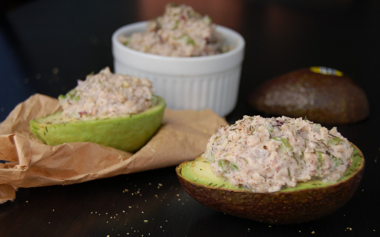 Tuna Stuffed Avocado 1