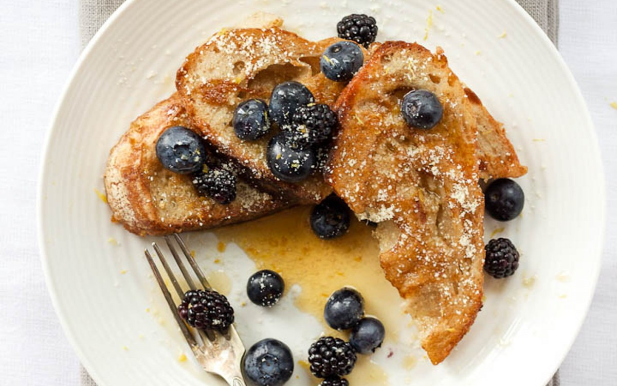 Almond Cardamom and Vanilla French Toast 3