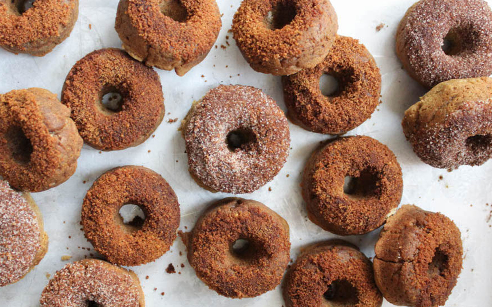 Apple Cider Protein Doughnuts