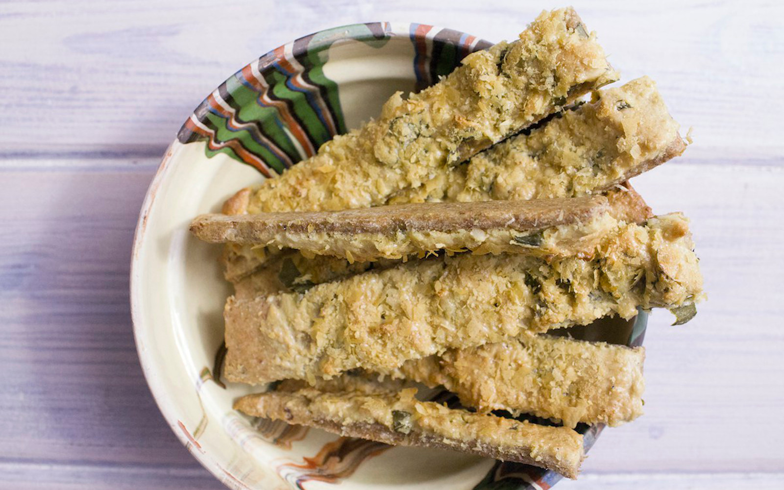 Basil and Oregano Cheese Straws 1