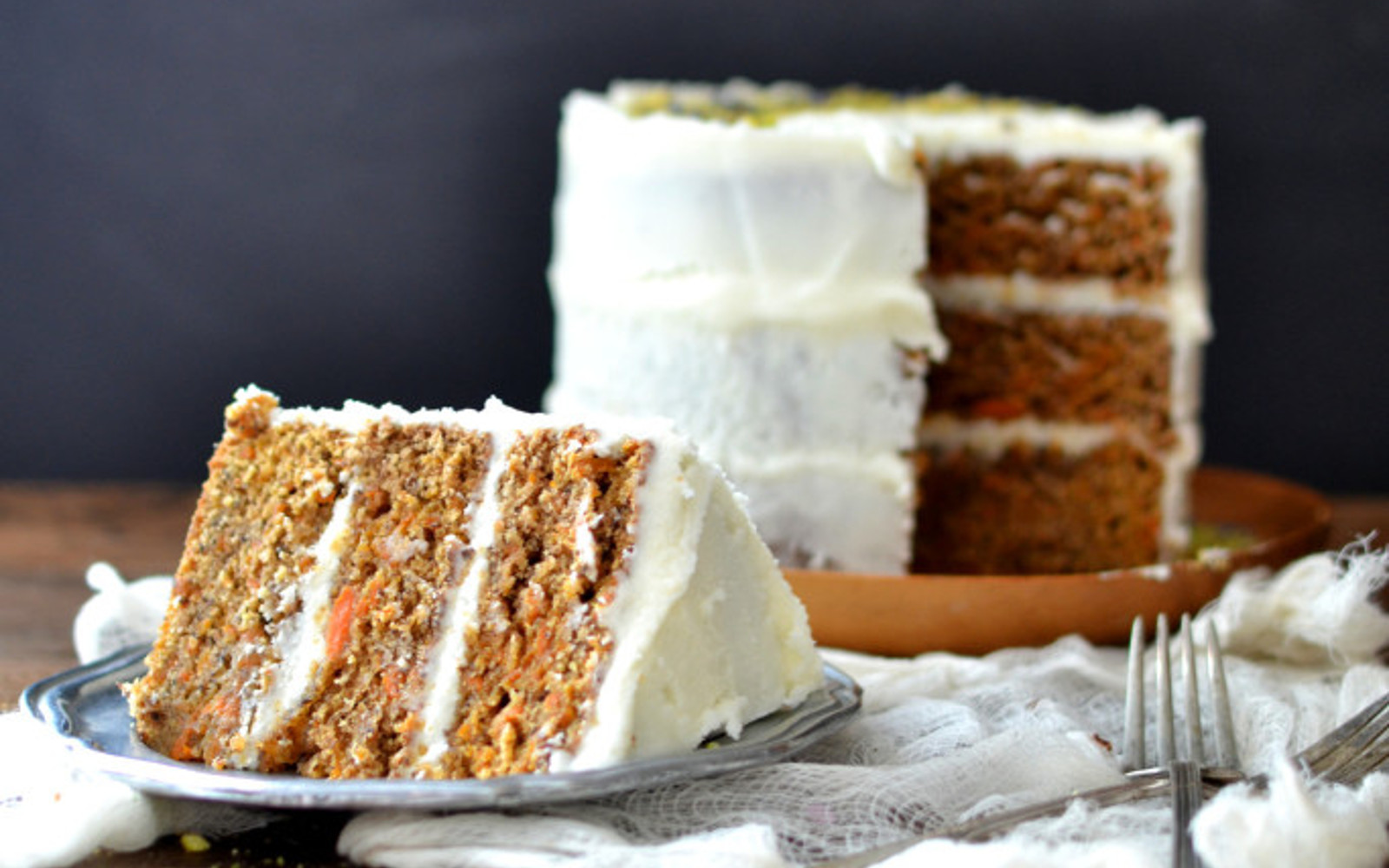 Cardamom Carrot Cake With Kombucha Frosting 1