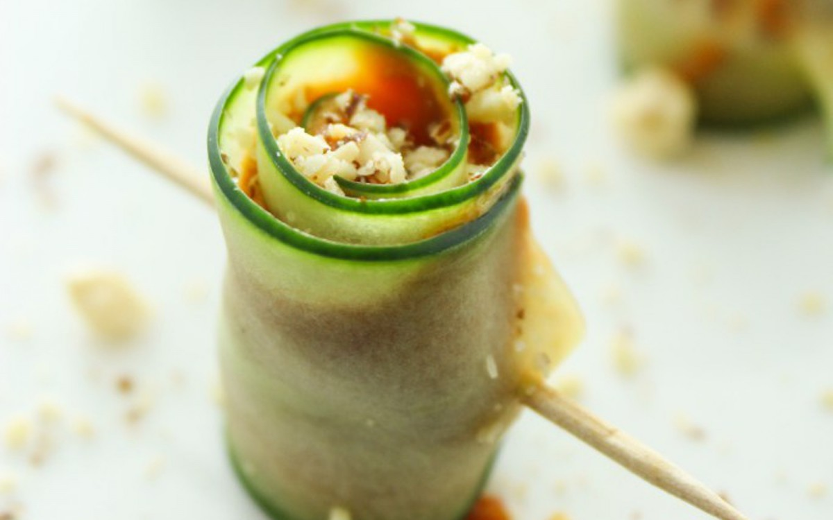 Cucumber Pinwheels With Sundried Tomato Avocado Pesto 1