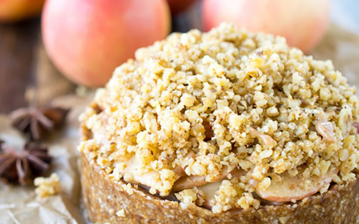 Deep Dish Apple Torte 1