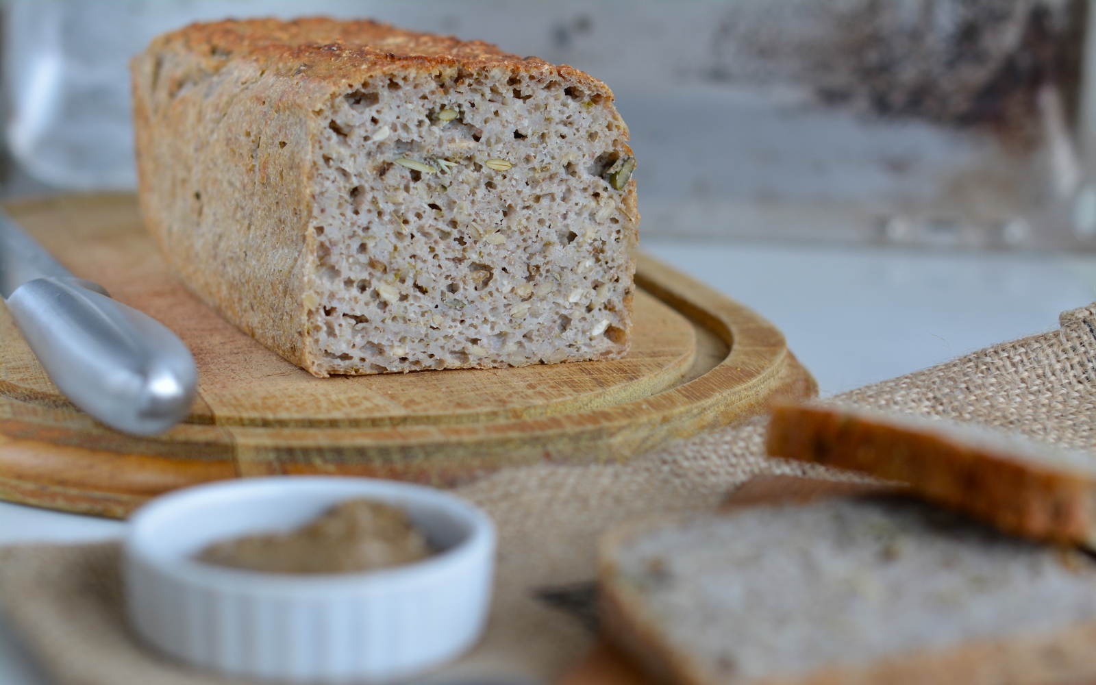 Fermented Buckwheat Bread 5