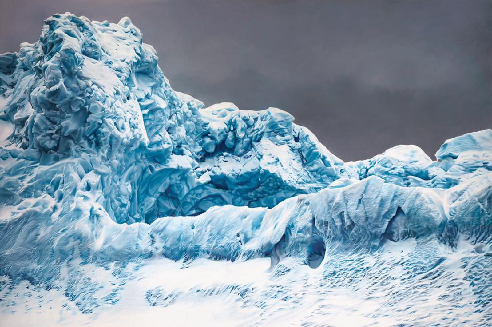 These Hyperrealistic Drawings of Glaciers Will Make You Wake Up and Act to Save the Planet