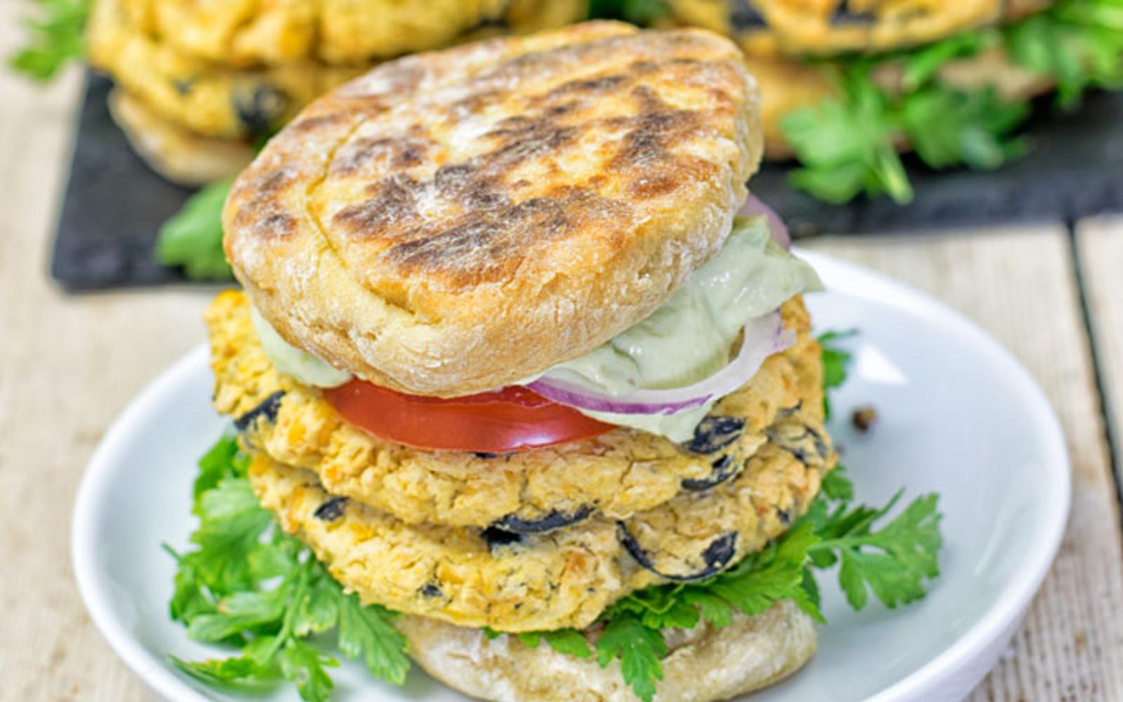 Mediterranean Burger 3