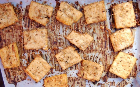 oil free baked tofu