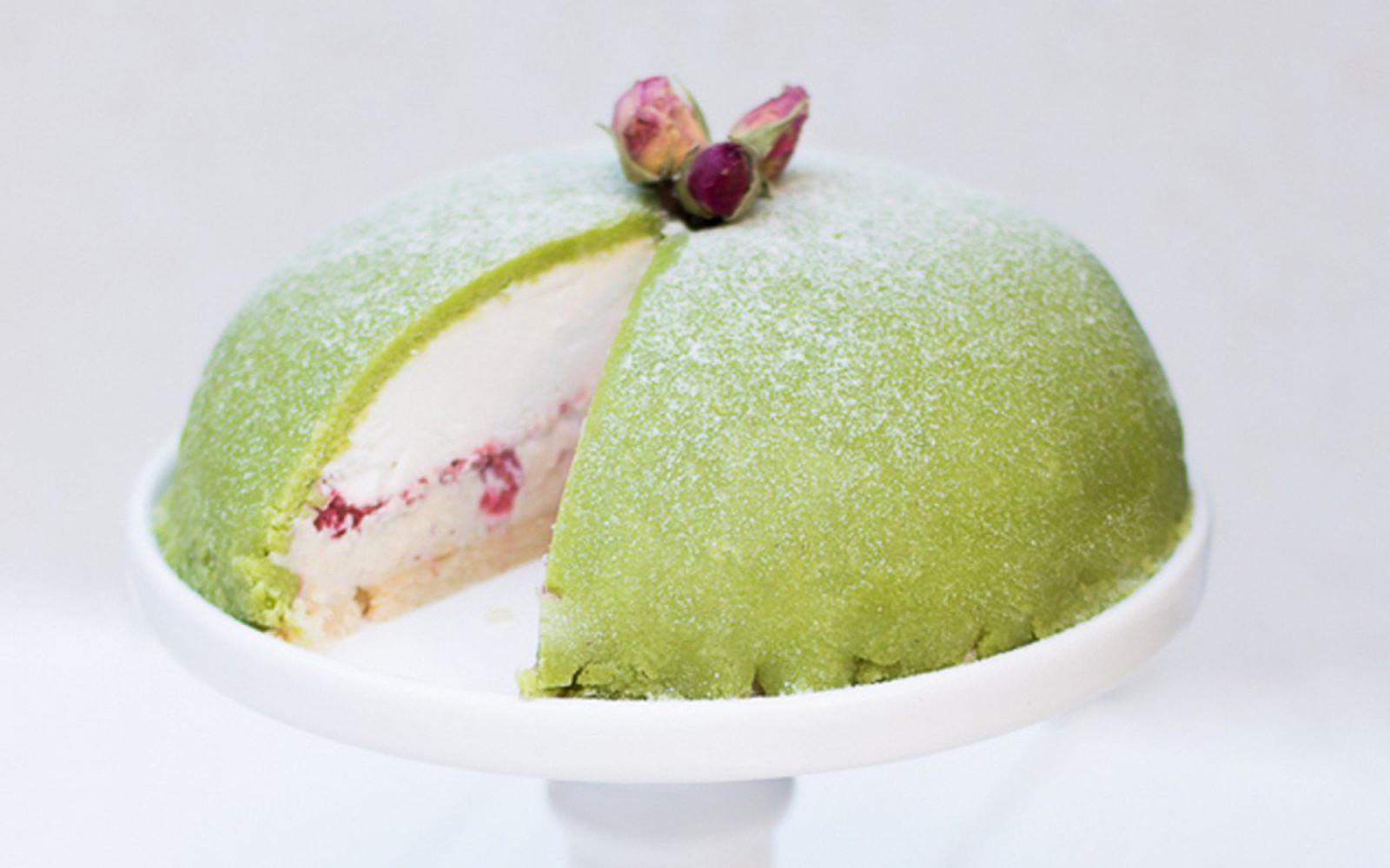 Raw Swedish Princess Cake