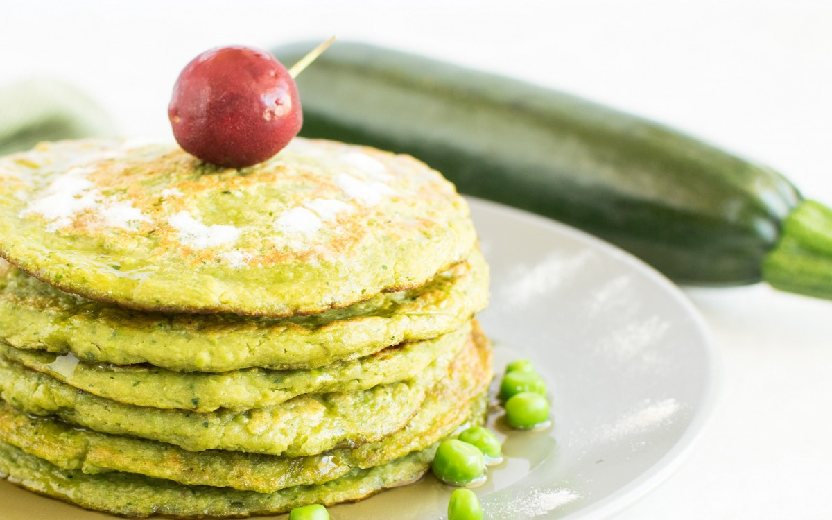 Quinoa Flour, Zucchini, and Peas Pancakes 3