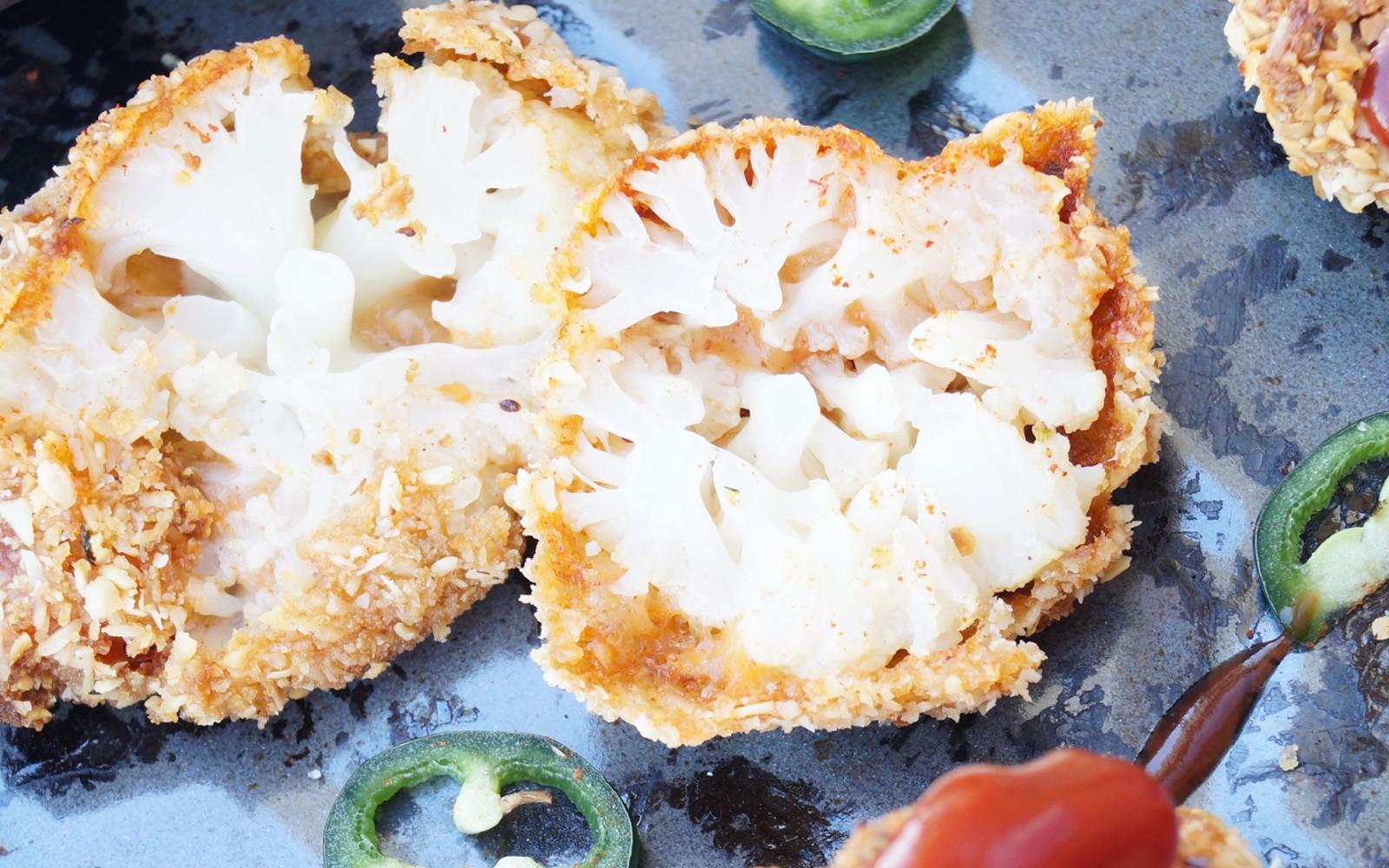 Spicy Crunchy Cauliflower Wings