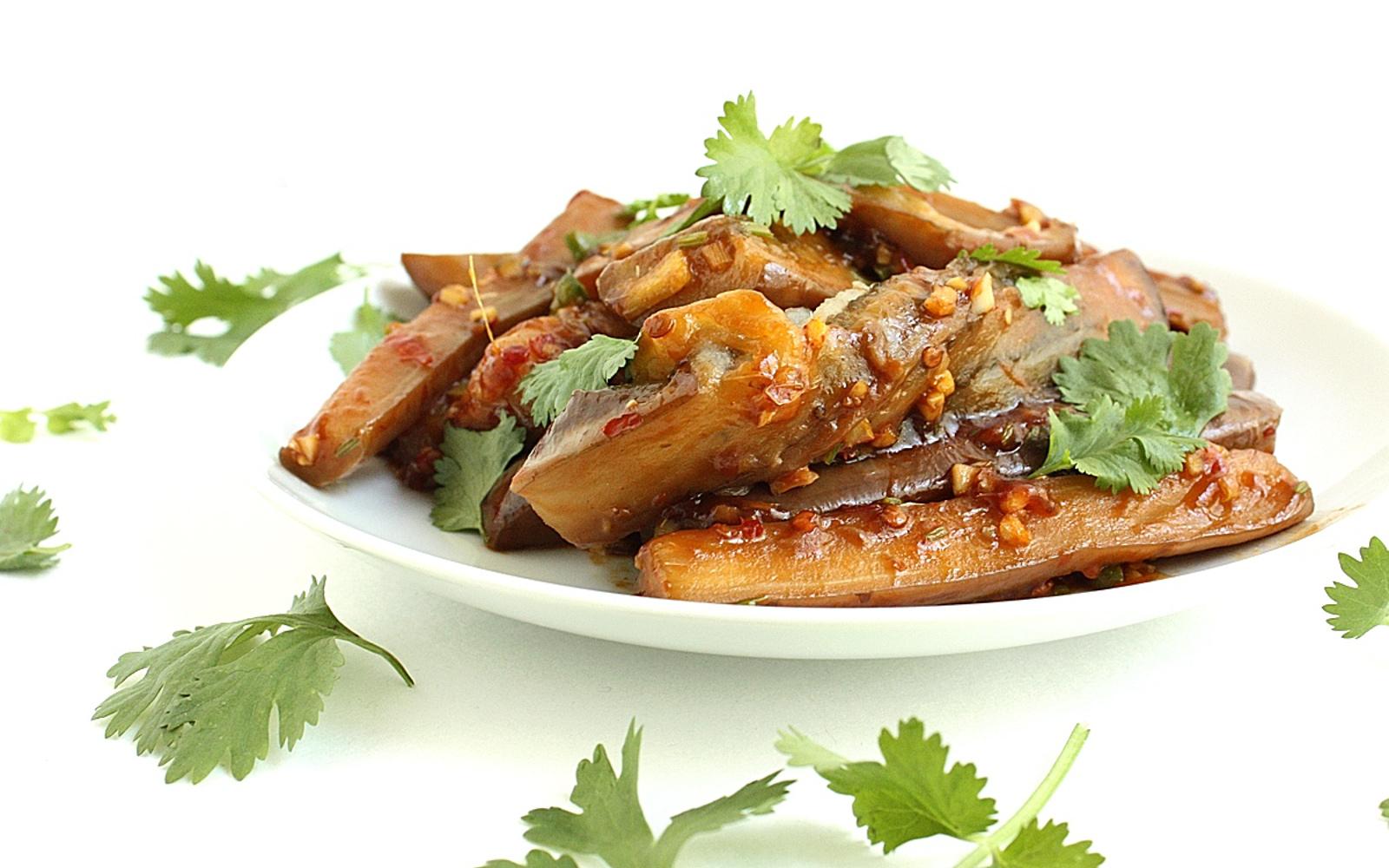 Spicy Sichuan Eggplant
