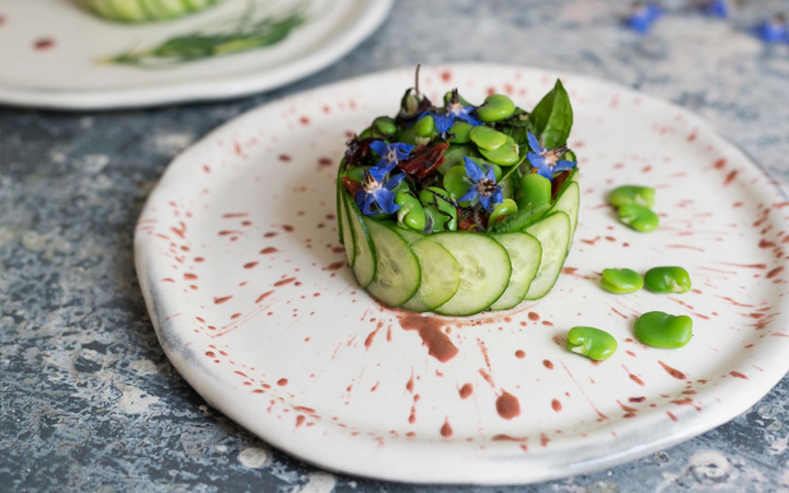 Summer Fava Salad 2