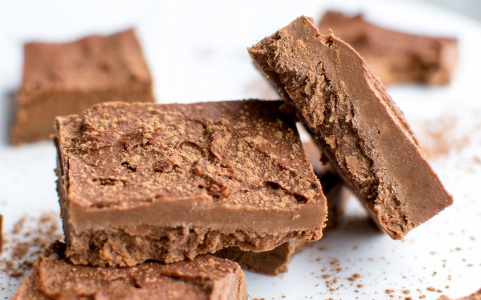 Sweet Potato Chocolate Tahini Fudge