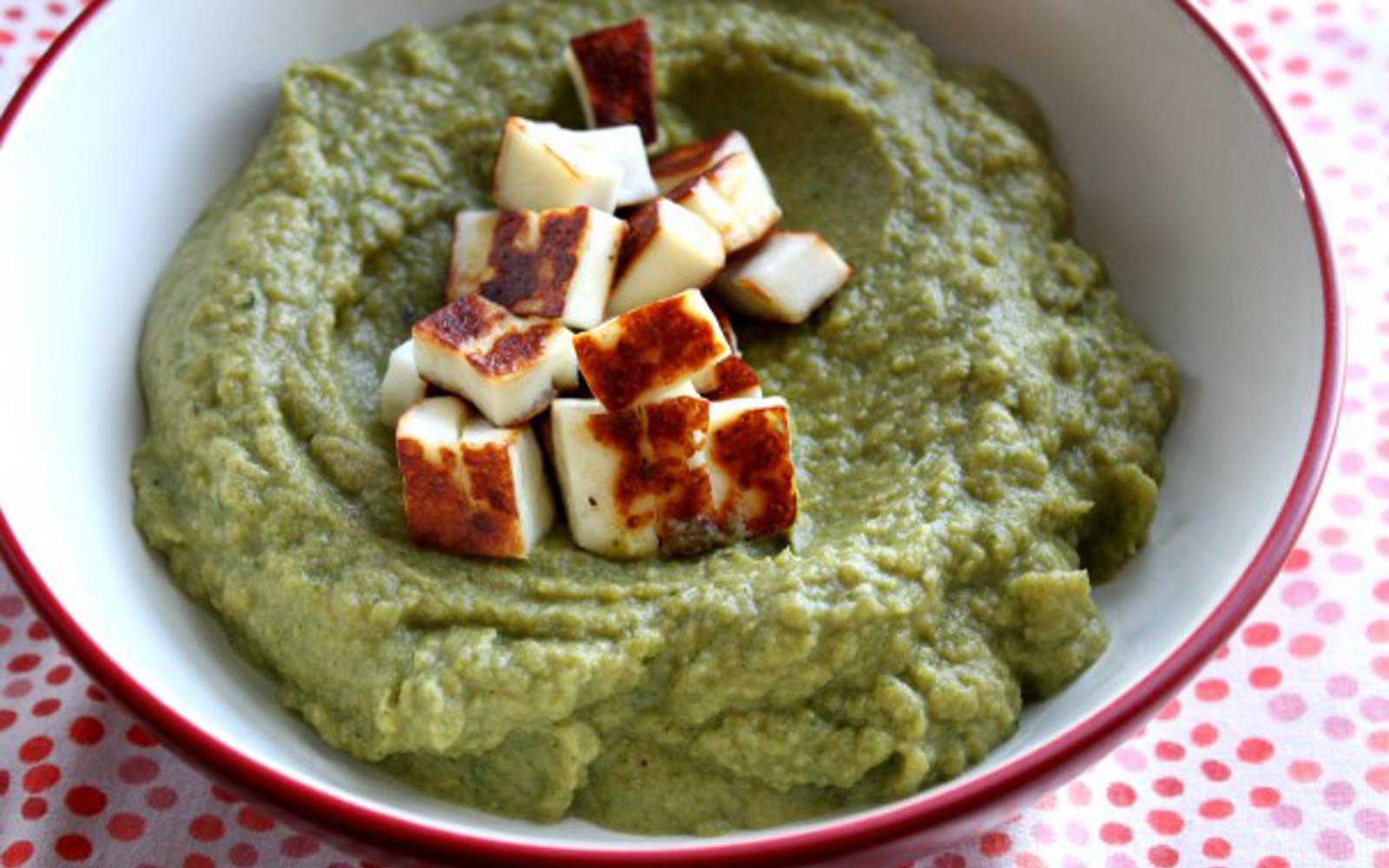 Cauliflower Brazil Nut Puree With Crispy Tofu 3
