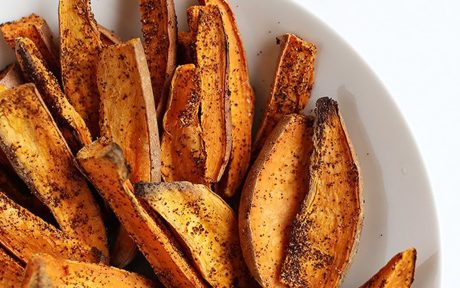 Chili Lime Baked Sweet Potato Fries 1