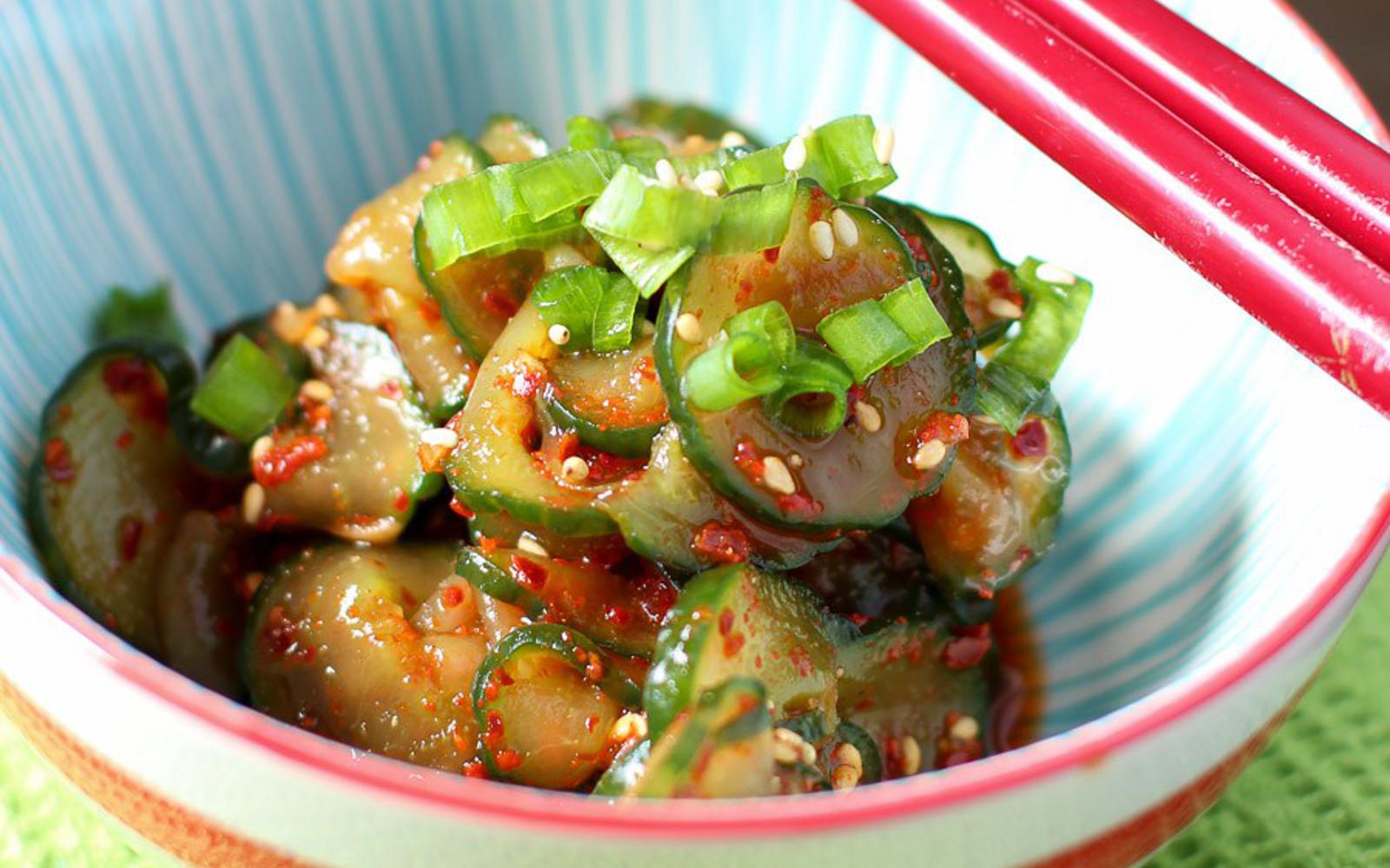 Cucumber Kimchi 2